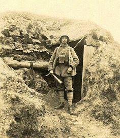 Imperial German soldier, World War 1.