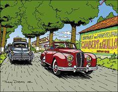 Hotchkiss Antheor et Peugeot 203 (Thierry Dubois)