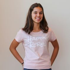 T-shirt - Happy Rebel