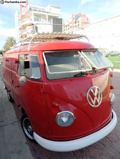1963 T1 VW Bus Double Cab restored Marin County California USA