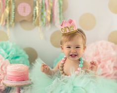 pink and gold first birthday outfit for girl, cake smash outfit girl, first birthday tutu set, pink tutu set, Gold First Birthday Outfit, Glitter First Birthday, First Birthday Crown, Baby Girl 1st Birthday, Birthday Tutu, Geek Birthday, 1st Birthday Photoshoot, Birthday Crowns, Birthday Cake
