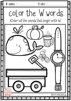 This set contains pages of variety activities, games and worksheets. This product will help to teach your students to recognize, read, write, solve, and listen for the beginning sound of that letter. Preschool | Preschool Worksheets | Kindergarten | Kindergarten Worksheets | First Grade | First Grade Worksheets | Alphabet | Alphabet Letter of the Week | Phonics | Reading | Writing | Alphabet Letter W| Word Literacy Centers | Printables| Phonics