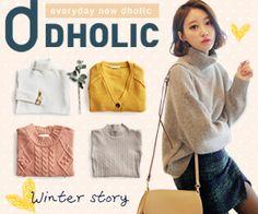DHOLIC Winter storyのバナーデザイン