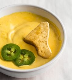 Stadium style nacho cheese