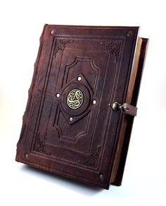 Antique Book Replica by MilleCuirs.deviantart.com on @deviantART