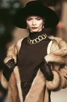 Yves Saint Laurent Haute Couture F/W 1997                                                                                                                                                                                 More