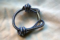 DIY: designer-inspired key chain bracelet. @Tara Smith