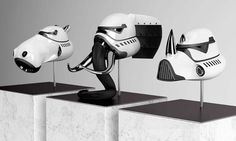 Blank William Redesigns The Iconic Stormtrooper Mask Into Three Futuristic Animals