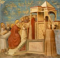 Giotto - Scrovegni - -08- - Presentation of the Virgin in the Temple - Giotto - Wikipedia