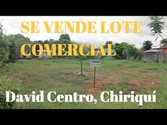 ‪#‎Lote‬ de ‪#‎esquina‬ en ‪#‎venta‬ ubicado en ‪#‎área‬ ‪#‎comercial‬ de ‪#‎David‬ ‪#‎Commercial‬ ‪#‎lot‬ for ‪#‎sale‬ in David, ‪#‎Panamá‬ ‪#‎love‬ ‪#‎venezuela‬ ‪#‎colombia‬ ‪#‎mexico‬ ‪#‎miami‬ ‪#‎NY‬ ‪#‎Boston‬ ‪#‎Chicago‬