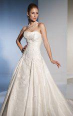 Mermaid Floor Length Strapless Dress White Bandage Destination Wedding Gowns 1118 Applique Beads