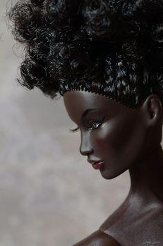 BUH-LACK Barbie. Beautiful!