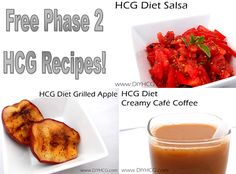 Get HCG recipes here at diyhcg.com! They have many different categories of HCG recipes for different meals. - lovin' this site~