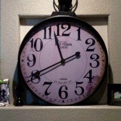 I love this clock
