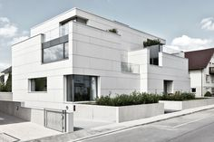EQUITONE facade materials. Luxembourg - Weimerskirch - housing. www.equitone.com