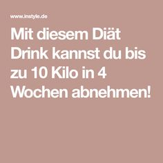 With this diet drink you can lose up to 10 kilos in 4 weeks! Lose Weight, Weight Loss, Diet Drinks, Health Promotion, Healthy Life, Healthy Living, Fitness Motivation, Food And Drink, Health Fitness