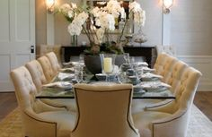 Meridith Baer Home | Traditional Dining Room.