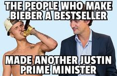 Trudeau Canada, The Twits, Cognitive Dissonance, Justin Trudeau, Twisted Humor, True Quotes, I Laughed, Famous People, At Least