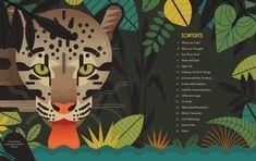 Crazy about Cats - Owen Davey Illustration - ZOO - Katzen Book Design Layout, Children's Book Illustration, Digital Illustration, Weird And Wonderful, Fauna, Cat Design, Geometric Art, Cat Art, Illustrations Posters