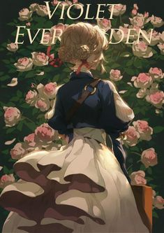 The heart is something you can't control Art Anime Fille, Anime Art Girl, Anime Girls, Violet Evergarden Wallpaper, Wallpaper Wallpapers, Violet Evergreen, The Garden Of Words, Violet Evergarden Anime, Japon Illustration