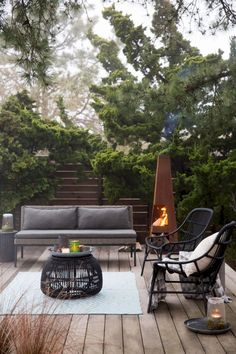 70 modern deck patio ideas for backyard design and decoration ideas 33 Outdoor Lounge, Outdoor Seating, Outdoor Rooms, Outdoor Living, Outdoor Areas, Outdoor Decor, Outdoor Furniture, Open Space Living, Living Spaces