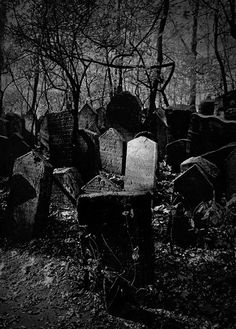 Old Jewish cemetery ...