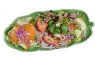 Varm thai oksekødssalat