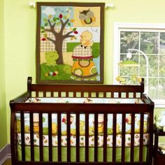 Forrest Critters Bedding by Step by Step - Forrest Baby Crib Bedding - if5244nt5-3300