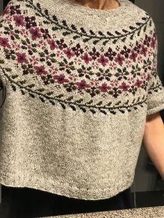 Fair Isle Knitting, Birkin, Ravelry, Crochet Top, Knitting Patterns, Textiles, Charts, Clothes, Fashion