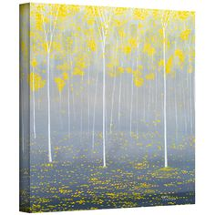 Herb Dickinson 'Verda Forest 2' Gallery-wrapped Canvas - Overstock™ Shopping - Top Rated ArtWall Canvas
