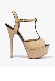 Patent T-Strap Heels   FOREVER21 - 2000047522