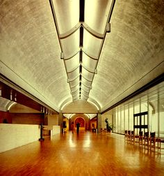 Kimbell Art Museum - Louis Kahn. EDIT: - had some interest as to who took this photo. I can't for the life of me find an orginial source. Anyone know?