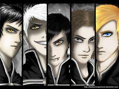 Captains of The Black Parade by ~fadiyaMangaMania on deviantART