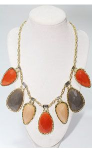 Stone Age Necklace in Tan $26