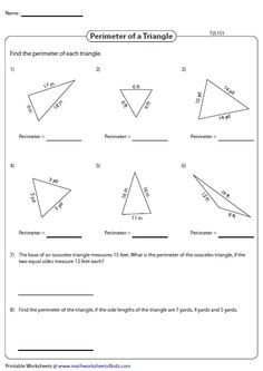 Classifying triangles based on side measures   Classifying ...