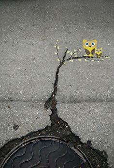 Year 2012 » STREET ART UTOPIA #treetart