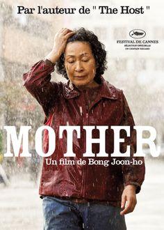 MOTHER DE BONG JOON-HO ,raro que no se haya hecho un versión americana de esta peli..8/10