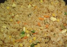 Delicious Hibachi Style Fried Rice Recipe - Yummy this dish is very delicous. Let's make Delicious Hibachi Style Fried Rice in your home! Fried Rice With Egg, Vegetable Fried Rice, Vegetable Recipes, Hibachi Chicken And Vegetables Recipe, Hibachi Style Fried Rice Recipe, Hibachi Rice, Onion Recipes, Rice Recipes, Punch