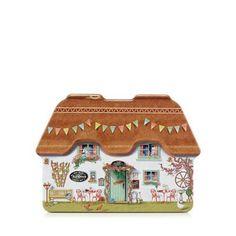 Debenhams Scottish biscuit assortment in a cottage shaped tin | Debenhams