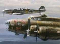 Amecican b 26 marauder medium bomber military planes pinterest an incredible christmas story from wwii the german fighter that helped save a crippled american fandeluxe Gallery