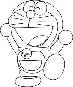 Doraemon helicopter coloring pages