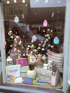 Nora's Shop Window Easter Ilkley, Yorkshire, UK