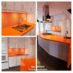 Final product of kitchen renovation at Leaside