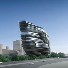 Innovation Tower at Hong Kong Polytechnic University | Architect: Zaha Hadid