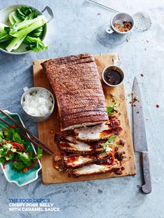 GET IN MA BELLY – Crispy Pork Belly with Caramel Sauce / the food dept.