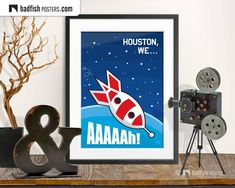 Apollo 13, Right To Choose, Moon Landing, Funny Illustration, Alternative Movie Posters, Digital Wall, Frame It, Cool Posters, Really Cool Stuff