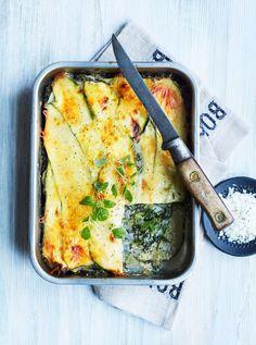 Clean Recipes, Raw Food Recipes, Cooking Recipes, Vegetarian Cooking, Vegetarian Recipes, Lchf, Zucchini, Healthy Recepies, Bastilla