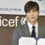 Lewat UNICEF, Lee Min Ho Sumbang Rp 568 Juta untuk Kegiatan Sosial