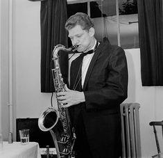 American jazz saxophonist Zoot Sims (1925 - 1985), circa 1960.
