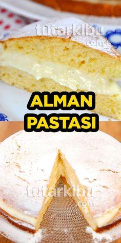 Alman Pastası Tarifi Turkish Recipes, Dessert Recipes, Desserts, Cake Cookies, Camembert Cheese, Recipies, Turkey, Food And Drink, Ice Cream
